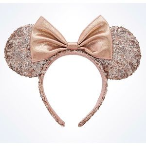 Rose gold Minnie ears 🐭✨